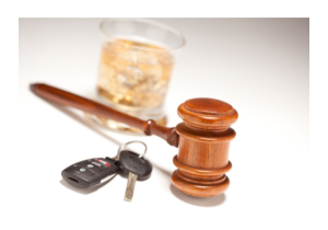 wooden mallet and a car key